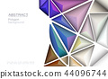Vector Geometric, Polygon for background 44096744