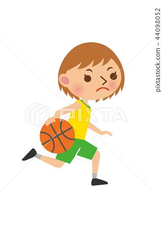 籃球女子 44098052