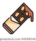 Chocolate LineColor illustration 44098546