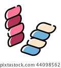 Marshmallow LineColor illustration 44098562