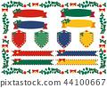 聖誕節框架裝飾集合 44100667