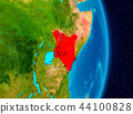 Kenya from space 44100828