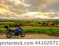 오토바이, 바이크, 해질녘 44102072