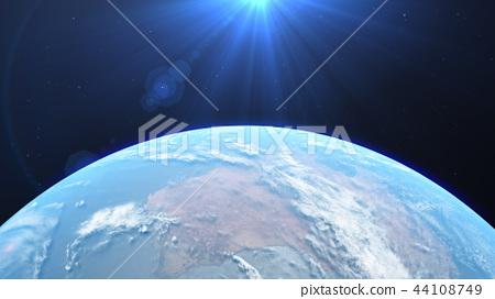 地球3DCG perming3DCG180928插圖素材 44108749