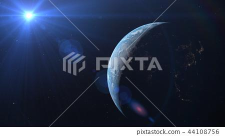 지구 3DCG perming3DCG180928 일러스트 소재 44108756