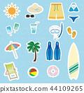 ชุดไอคอนว่ายน้ำ 44109265