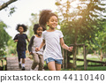 kids playing outdoor 44110140