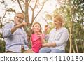happy elderly family 44110180