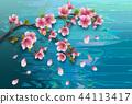 background sakura texture 44113417