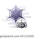 Spider LineColor illustration 44115509