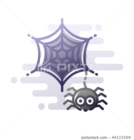 Spider LineColor illustration 44115509
