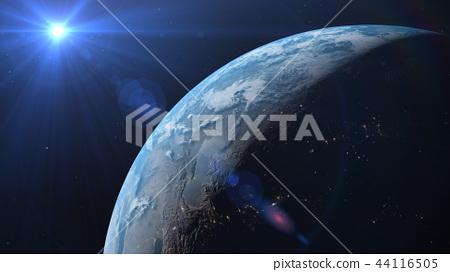 지구 3DCG perming3DCG180928 일러스트 소재 44116505