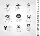 สัตว์,สัตว์ต่างๆ,ไอคอน 44117023