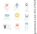 สัตว์,สัตว์ต่างๆ,ไอคอน 44117024