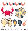 vector, illustration, food 44117988