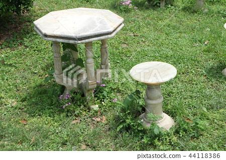 戶外大理石 桌椅 44118386