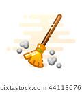 Broom LineColor illustration 44118676