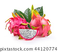Dragon fruit isolated on white background 44120774