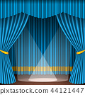 vector, illustration, theater 44121447