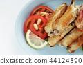 닭고기, 닭날개 튀김, 테바사키 44124890