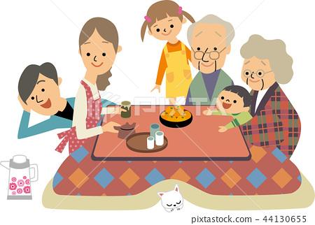 家庭在年底回到父母家 44130655