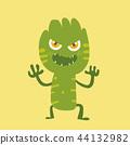 Cute monster cartoon character 44132982