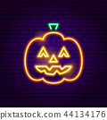 Jack o Lantern Neon Sign 44134176