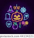 Halloween Neon Concept 44134221