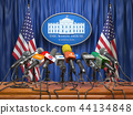 Press conference of president in the White House  44134848