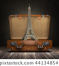 Trip to Paris. Travel or tourism to France concept 44134854