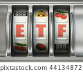 ETF exchange traded fund as jackpot  44134872