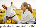 karate, exercise, group 44135961
