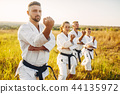 karate, exercise, group 44135972