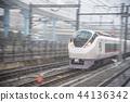 e657 series, express train, snowy 44136342