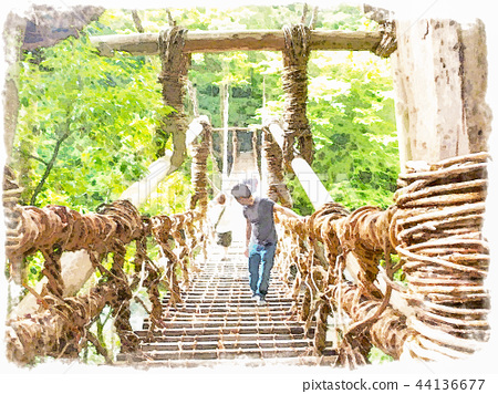 Kazura Bridge 44136677