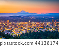 Portland, Oregon, USA Skyline 44138174