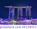 싱가폴, 싱가포르, 야경 44138451