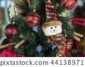 Christmas tree and Christmas decorations 44138971
