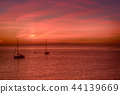 Sunset at sea 44139669