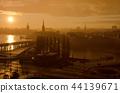 Stockholm golden sunset 44139671