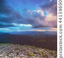 Carpathian mountain landscape 44139690
