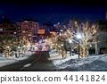 積雪 寒冬 冬天 44141824