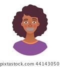 女性 女 脸部 44143050