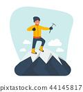 mountaineer, top, climber 44145817