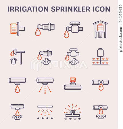 water sprinkler icon 44146459