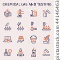 chemical lab icon 44146463