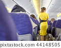 blurred flying attendants ,air hostess 44148505