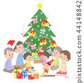 크리스마스 가족 44148842