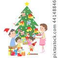 聖誕節家庭 44148846
