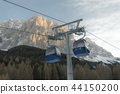Cable cars in the austrian alps 44150200